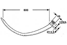 59.009-G SGP51-0042  Игла Gallignani 145/146/148