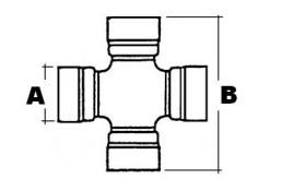 6403-14.0 1342715C1 Крестовина