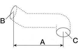 153-123 224718 Патрубок радиатора