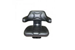 50671060 Сиденье из двух частей черного цвета с подлокотниками